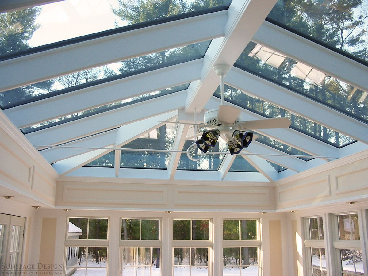Custom Skylights Roof Systems In New England Sunspace Design