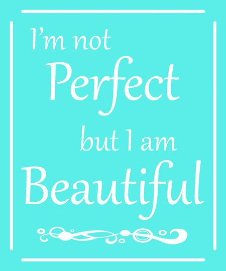 I'm not perfect Thoughts, Positivity and Recovery