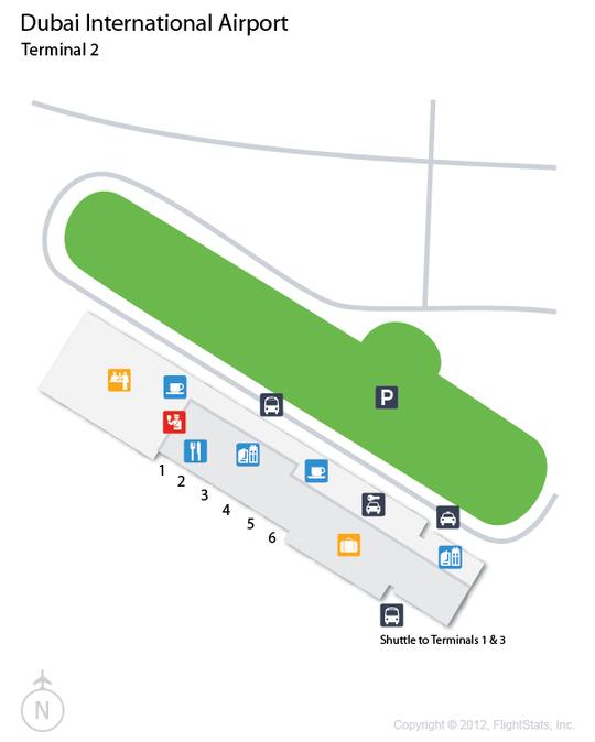 DXB Dubai Airport Terminal Map airports Pinterest Dubai