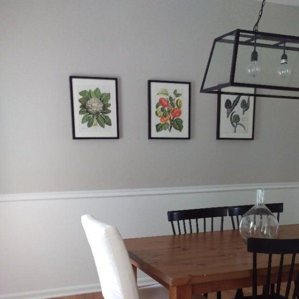 Best The Dining Room Is Painted Andi Love It Top Half Is 400 x 300