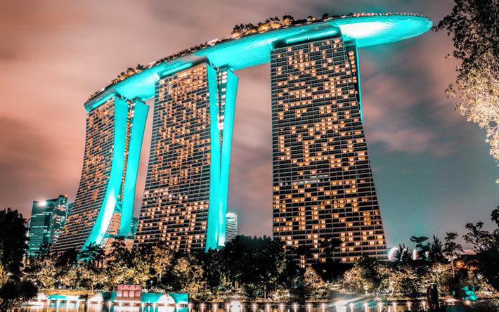 431a0c3de173 Download wallpapers Marina Bay Sands