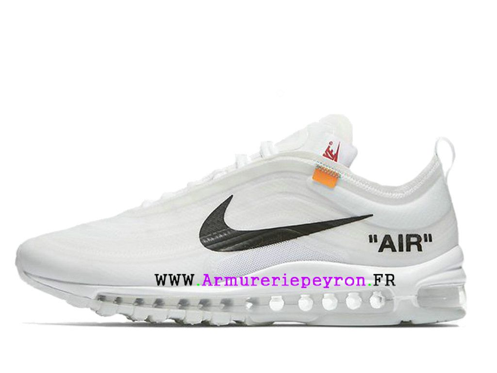 plus de photos 65f8b 7f614 2018 Nouvelle Coutume Off-White X Nike Air Max 97 Prix ...