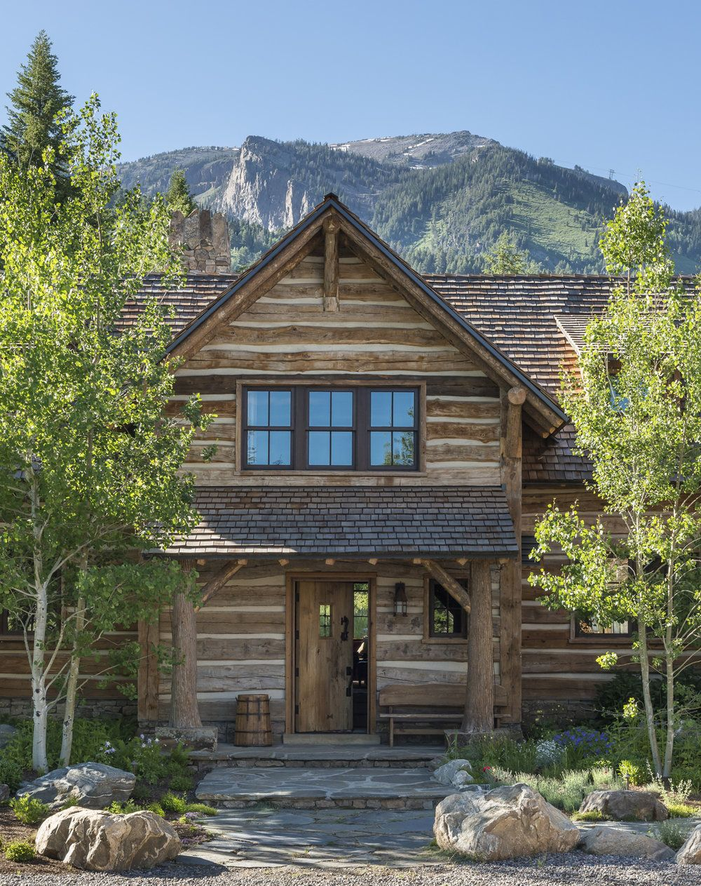 Rustic home exterior design  Pin by Scott Christensen on Home Exterior Ideas  Pinterest