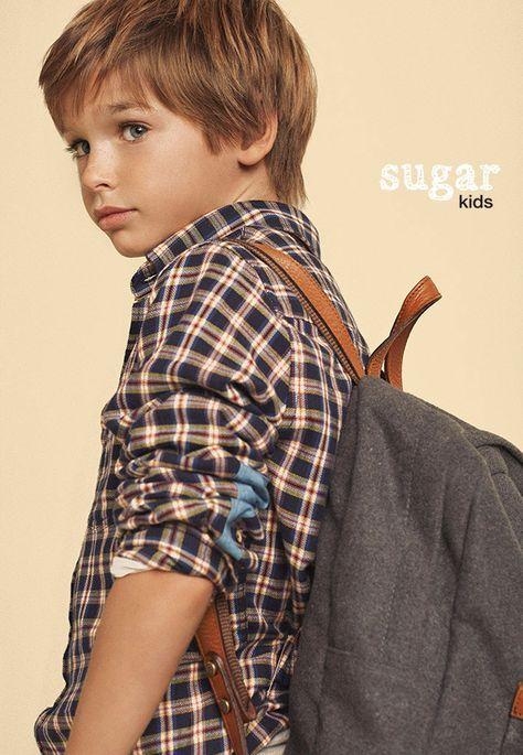 Lookbook Massimo Dutti «Back to School» with Sugar Kids
