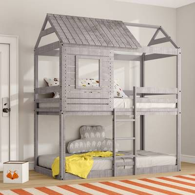 Whitbeck Twin Bed Bunk Bed Designs Twin Bunk Beds Kids Bunk Beds