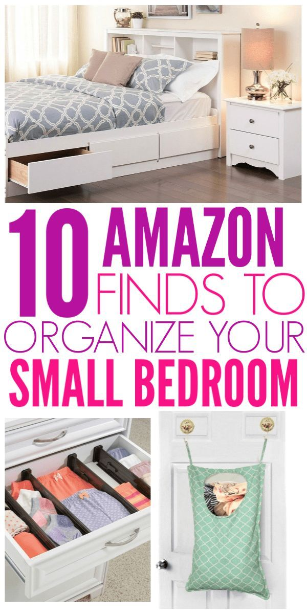 10 Amazon Finds That Will Organize Your Small Bedroom images