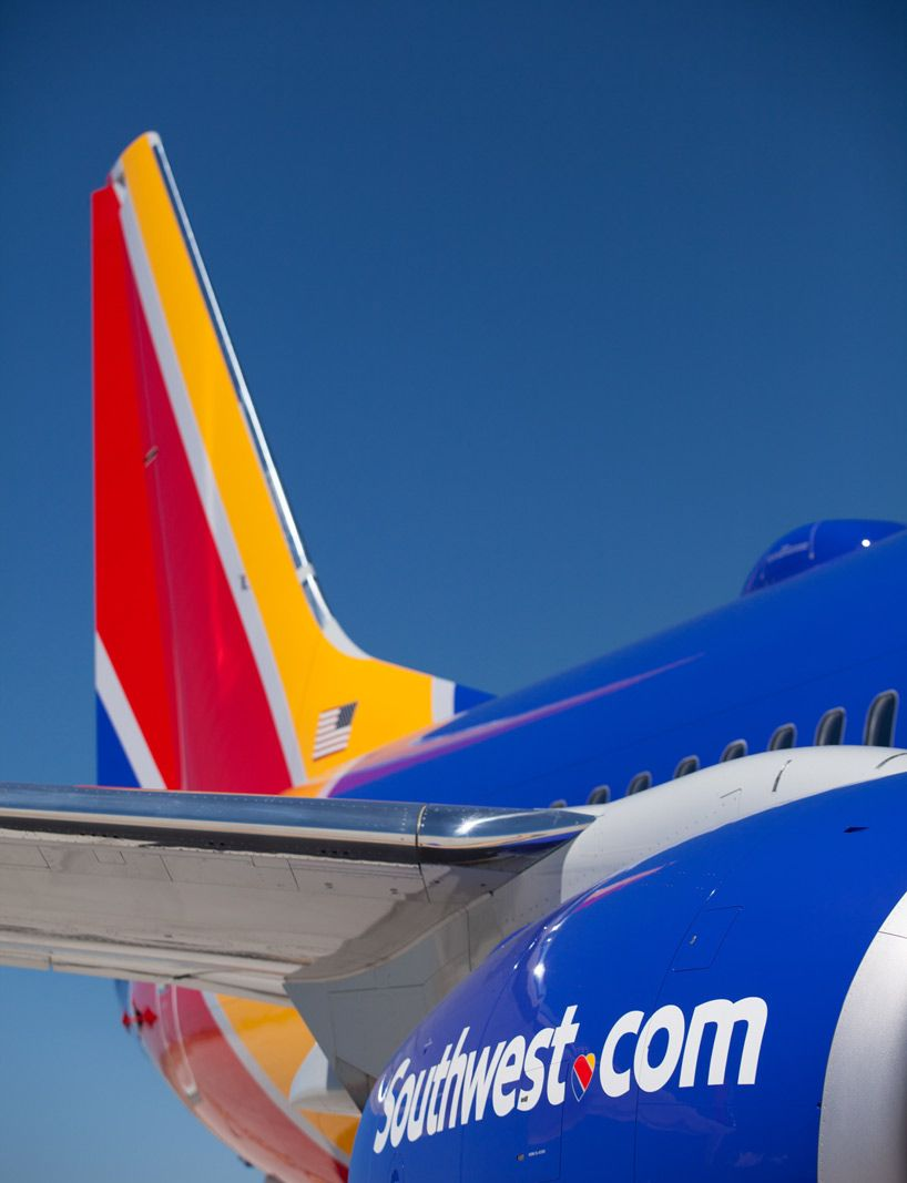 Southwest airlines reveals new aircraft livery airport branding southwest airlines reveals new aircraft livery airport branding and logo buycottarizona