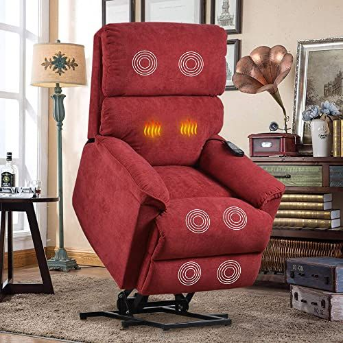 Beautiful Lift Chair for Elderly with Massage Heat, Heavy ...