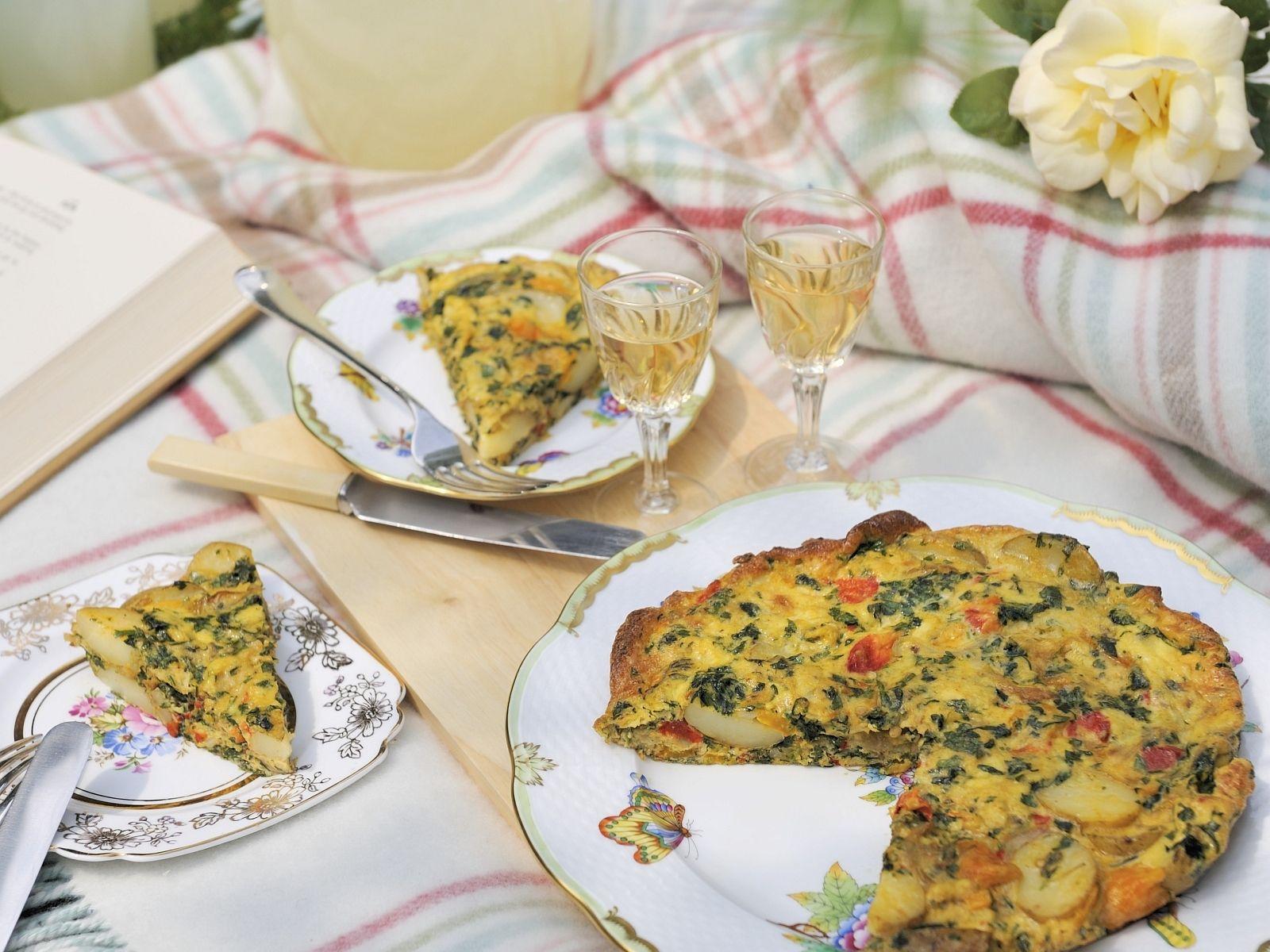 Kartoffelomelett auf spanische Art (Tortilla) - smarter - Zeit: 40 Min. | eatsmarter.de