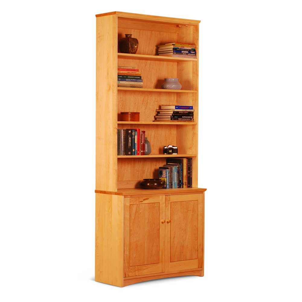 Dining hutch as bookcase bookcase hutch over base cabinet with