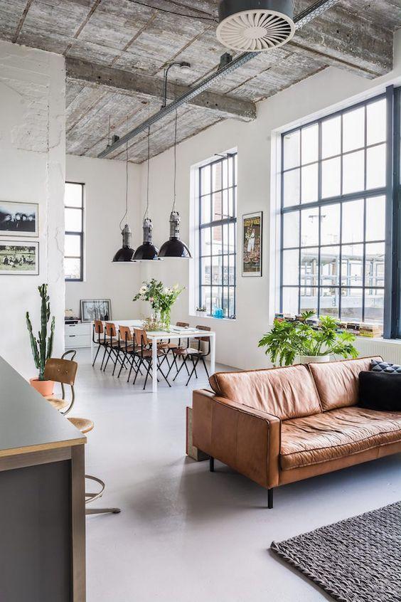 Phong c ch scandinavian mi casa pinterest sof s de for Diseno de apartamentos industriales