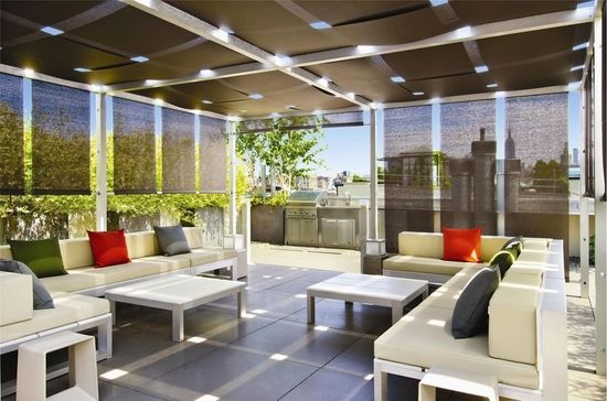 Modern House Terrace Design Pergola Sun Protection Grill Area - Modern house terrace design