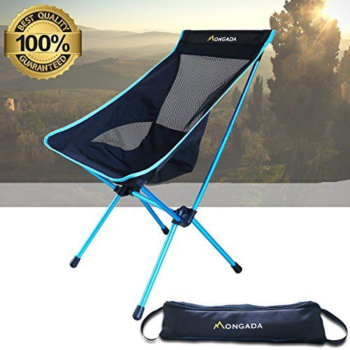 folding chair nylon hanging for balcony camping by mongada heavy duty 600d oxford fabric aluminium frame sewing lightweight portable comfortable high back design you can