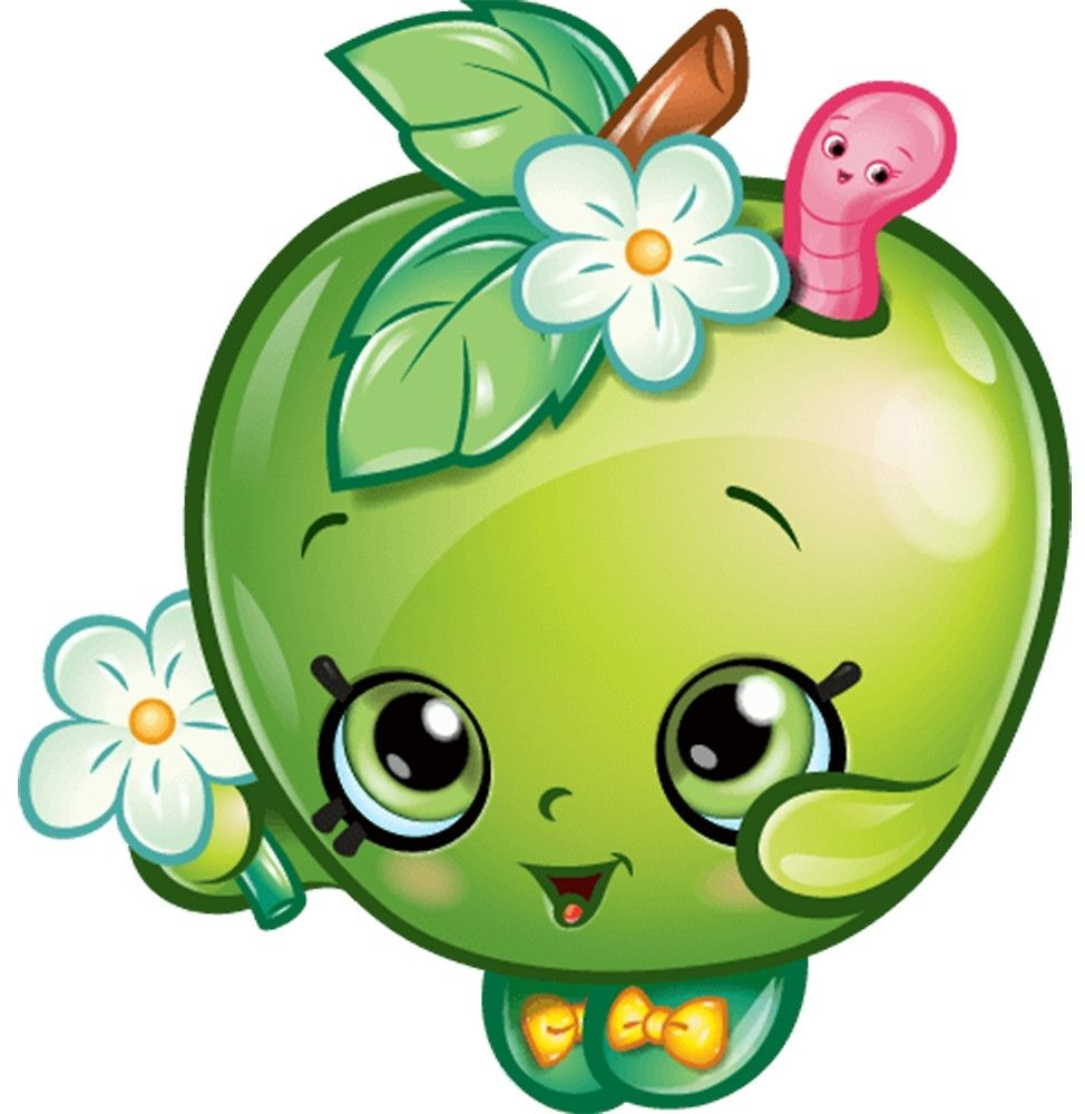 Shopkins apple blossom. Characters