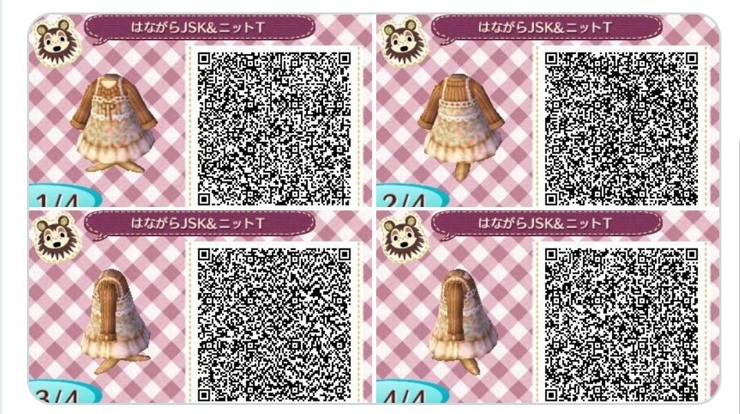 17+ Animal crossing qr codes clothes ideas in 2021
