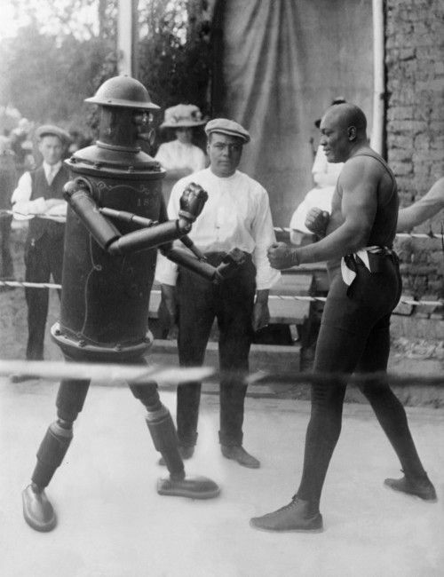 Mexican Boxing Robot (1916) in 2019 | Turn of the century
