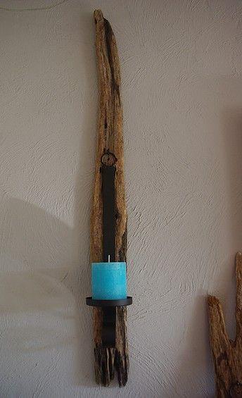 driftwood - Kerzenhalter aus Treibholz