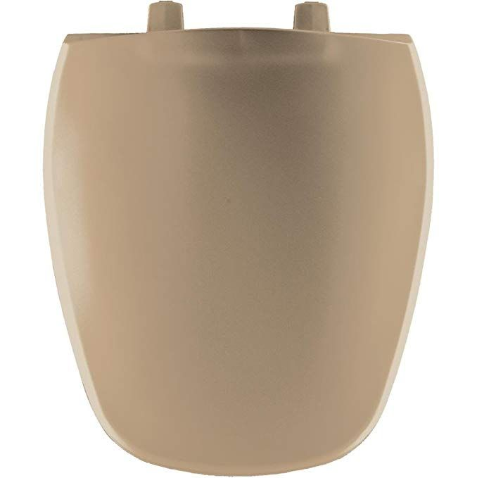 Bemis 1240200148 Eljer Emblem Plastic Round Toilet Seat
