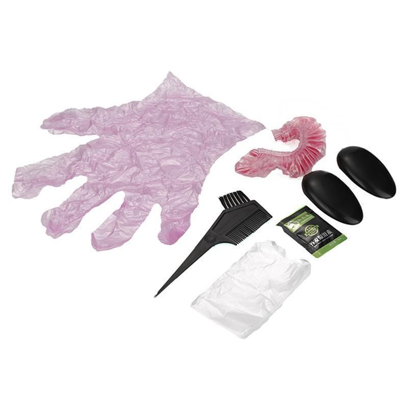 Hair Color Dye Tint With Hair Brushes Cap Gloves Combo Hair Tool ...