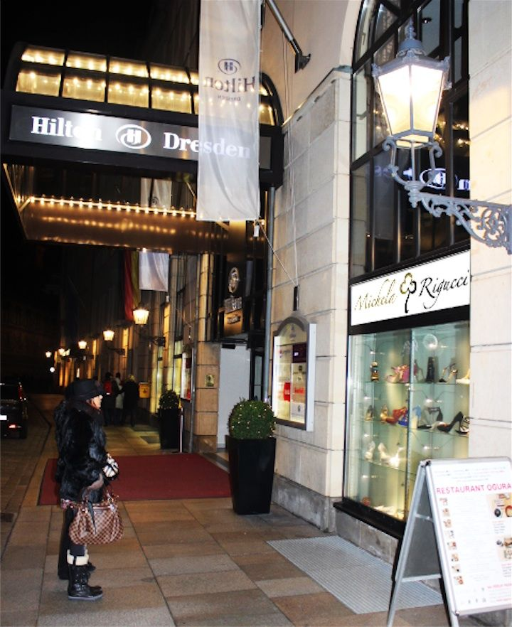 """La prima Boutique """"Michela Rigucci"""" presso l'Hotel Hilton di Dresda  """