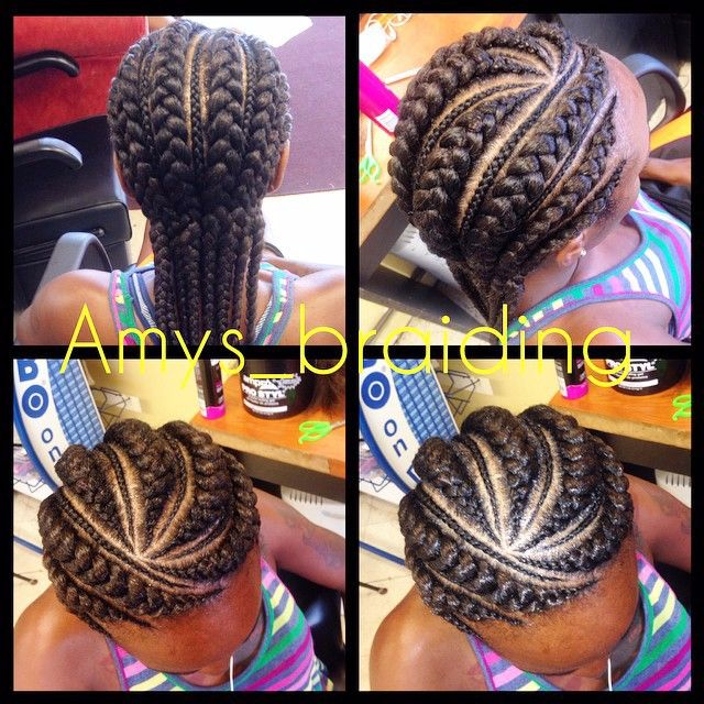 Surprising Cornrow Cornrows And Protective Styles On Pinterest Hairstyle Inspiration Daily Dogsangcom