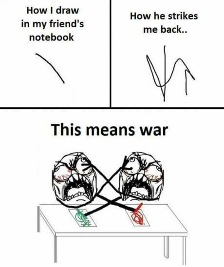 When You Draw In Friend S Notebook School Quotes Funny Funny School Memes Fun Quotes Funny
