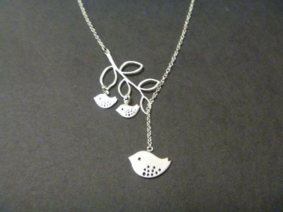 Mommy and two baby birds necklace mother and child mom necklace mommy and two baby birds necklace mother and child mom necklace branch lariat silver mommy necklace femmart aloadofball Gallery
