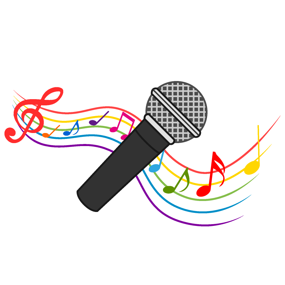 Microphone And Music Note Waving Clipart Download Picture Illustoon Musical Notes Art Free Clip Art Music Notes