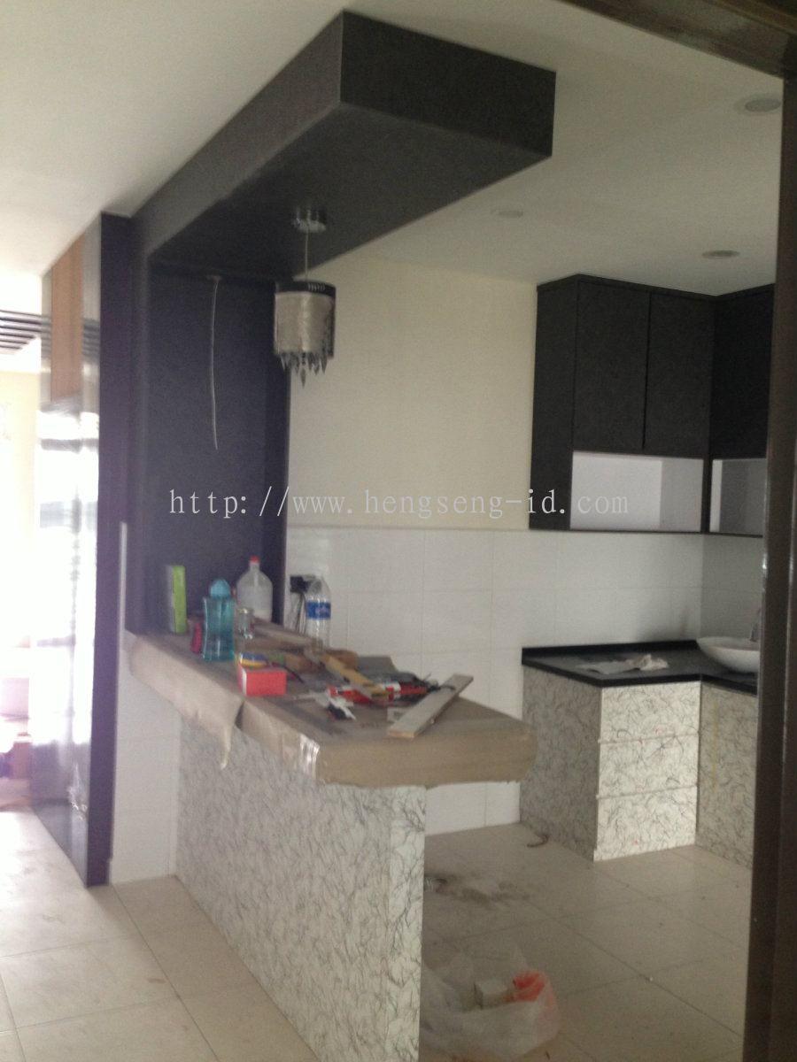 Johor Bahru JB Dapur Kering Reka Bentuk Dapur Daripada Heng Seng