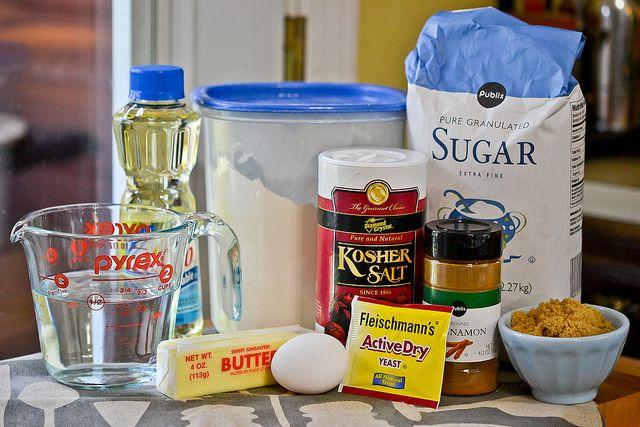 Cinnamon Sugar Pretzel Bites by Full Fork Ahead, via Flickr