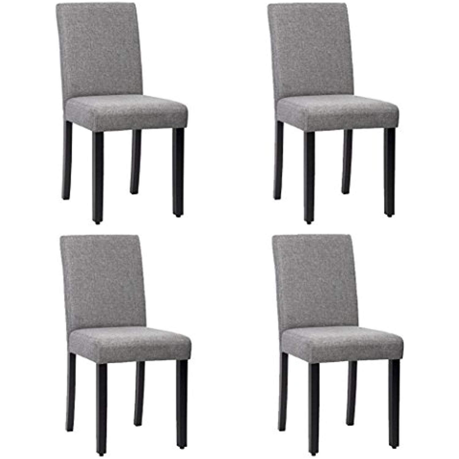 Dining Chairs Kitchen Livng Room Side Armless Solid Wood Accent