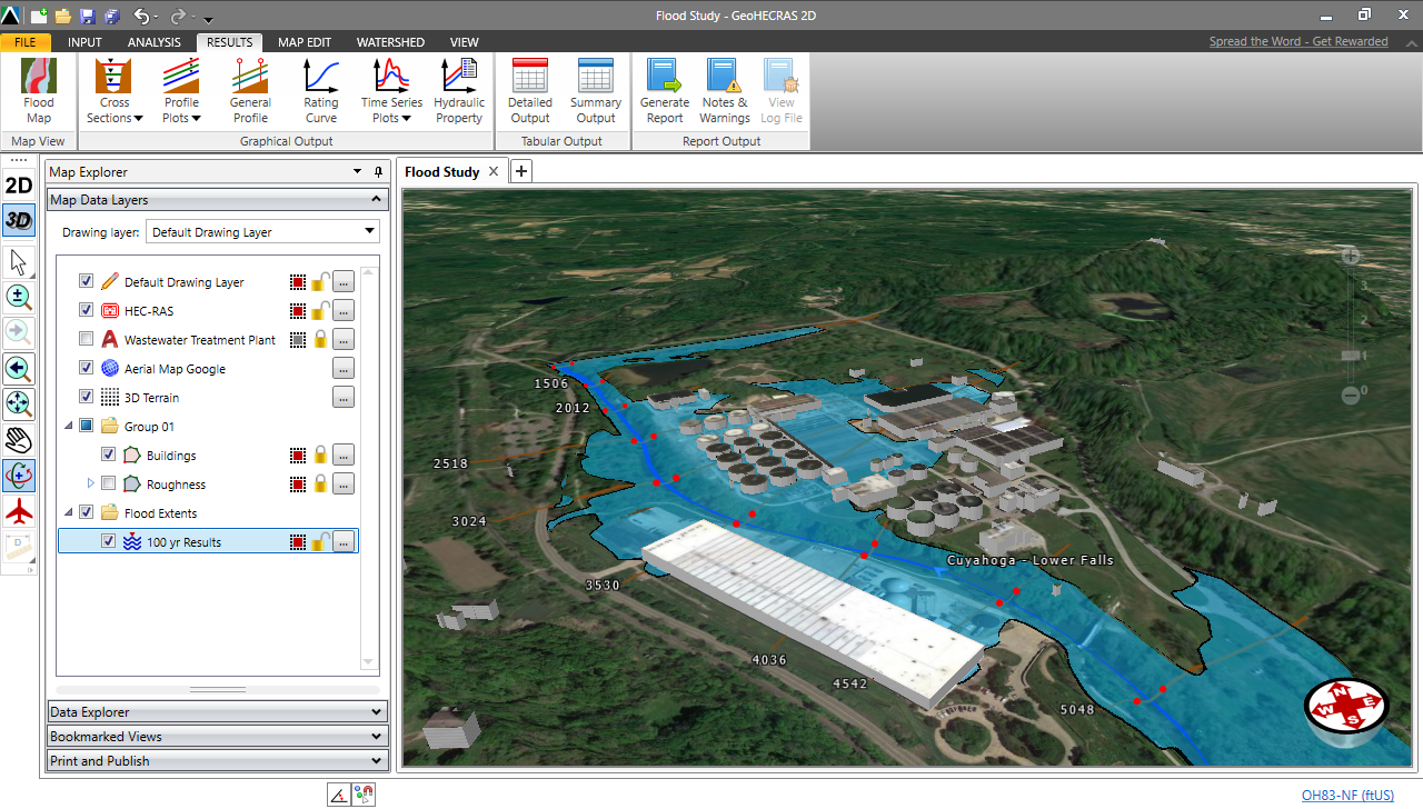 Generate floodplain and floodway mapping from HEC-RAS ... on airport 3d map, maya map, computer 3d map, water 3d map, java map, project management map, mac map, architecture map, school 3d map, natural 3d map, word map, nuclear 3d map,