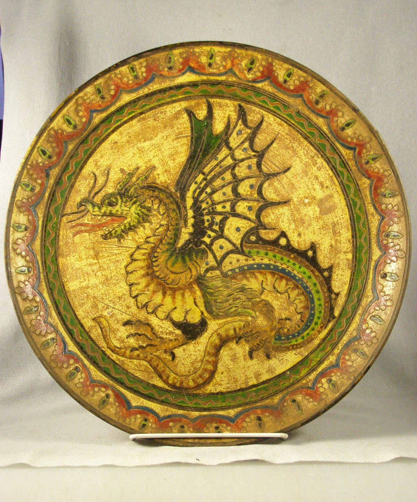 Vintage Italian Sgraffito Montopoli Arno Pottery Charger / Wall ...