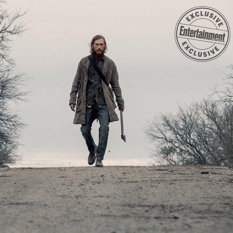 Nova Imagem Do Dwight Na 5ª Temporada De Fear The Walking Dead