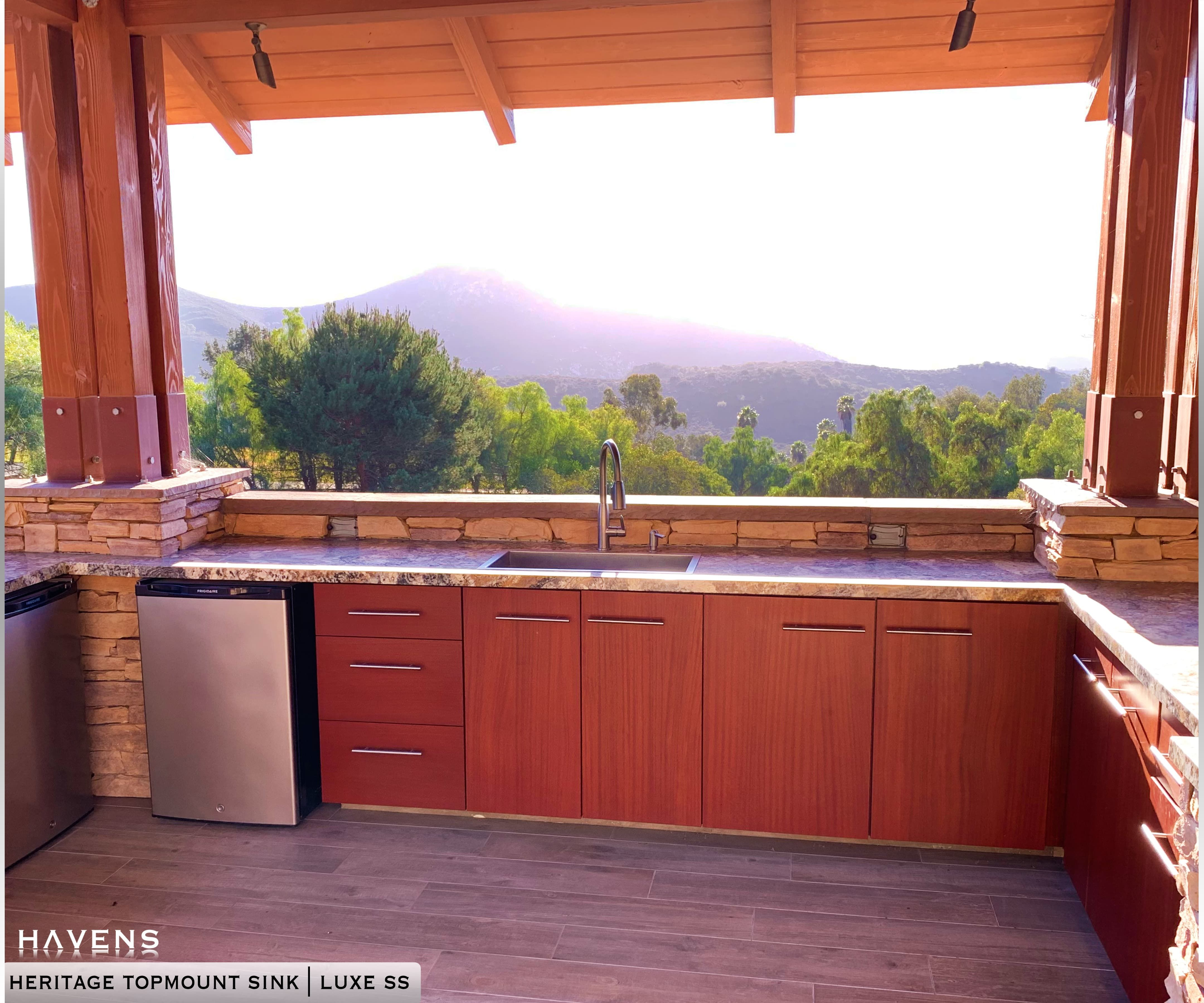 Top Mount Sinks Copper and Stainless in 2020 Outdoor
