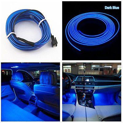 Universal Car Auto Interior LED Decorative Wire Strip Atmosphere ...