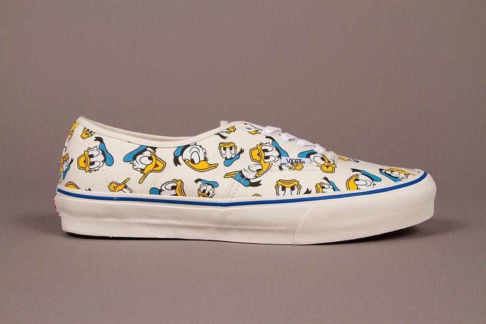 Vans X Disney Authentic Shoes (Disney) Donald Duck | Vans