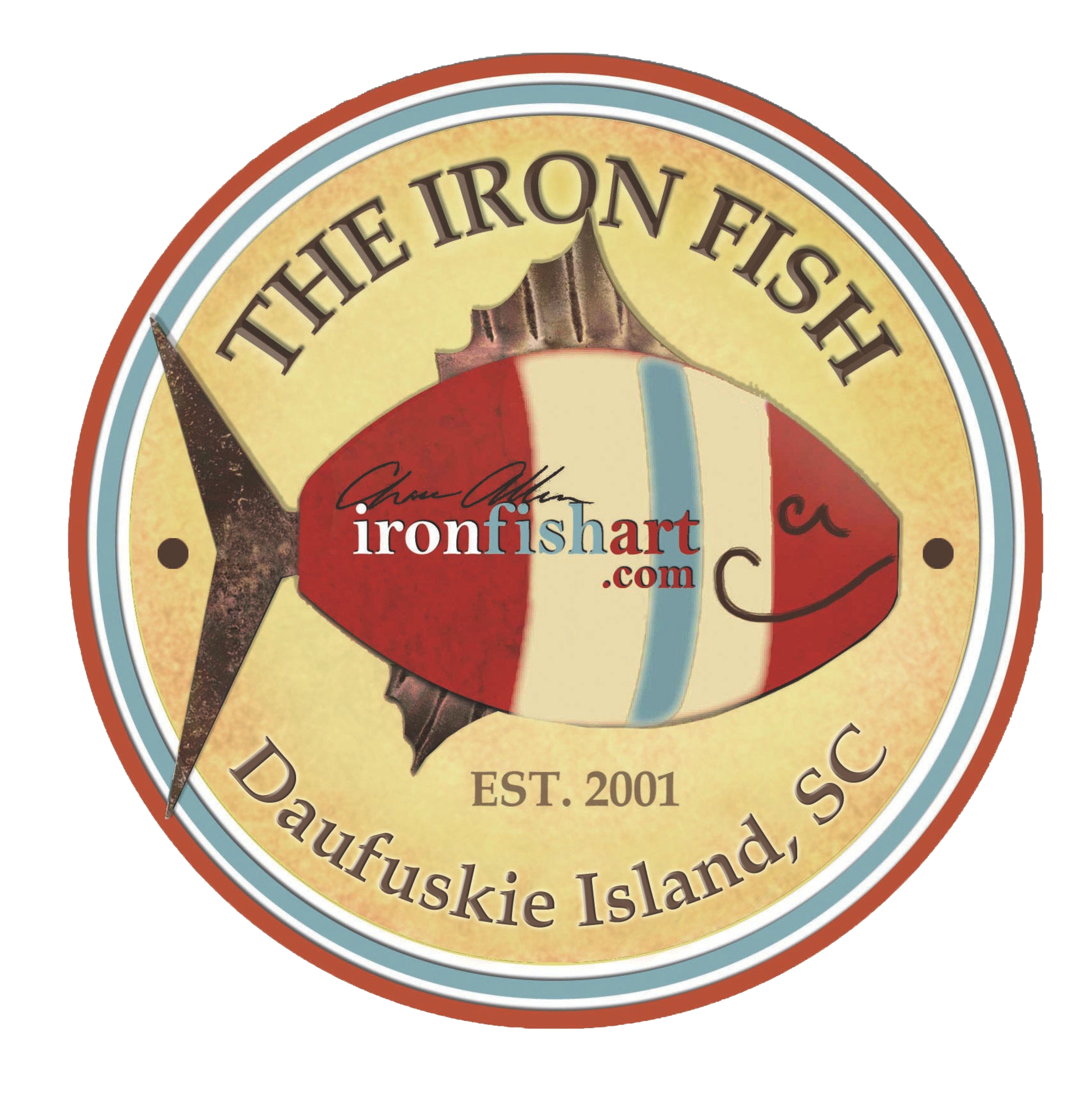 The Iron Fish Gallery Logo. The Iron Fish Gallery is the home of ...