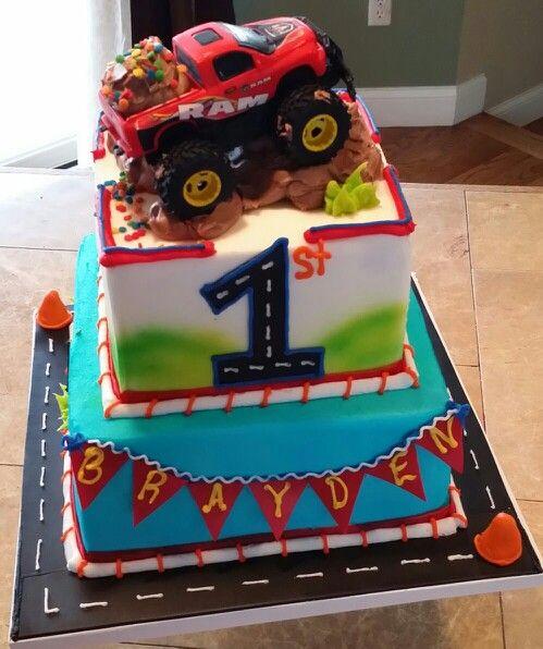 Boys Truck Cake Cakes Boy Birthday Anniversary