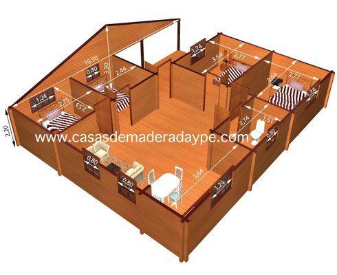 En mostramos los modelos de casas de madera mas vendidas - Casas de madera y mas ...