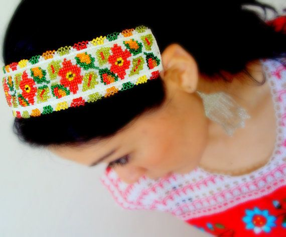 twa hair styles mexican beaded hippie and chic headband by 3649 | 3649eb33c7a66de7704e8ac4c5d1c8f0