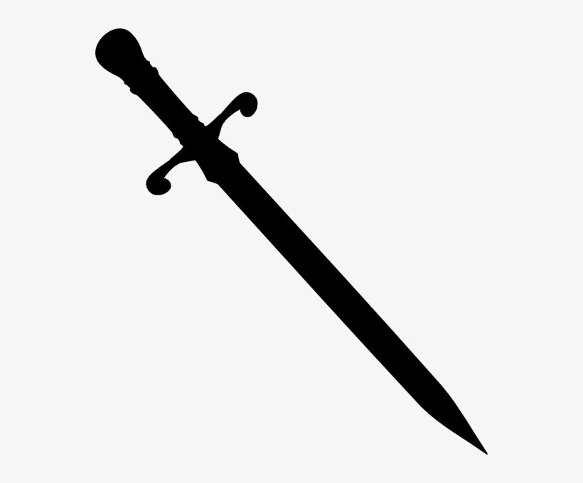Download Sword Png Black Clip Art Library Sword Silhouette Png For Free Nicepng Provides Large Related Hd Transparent Pn Clip Art Library Silhouette Png Png