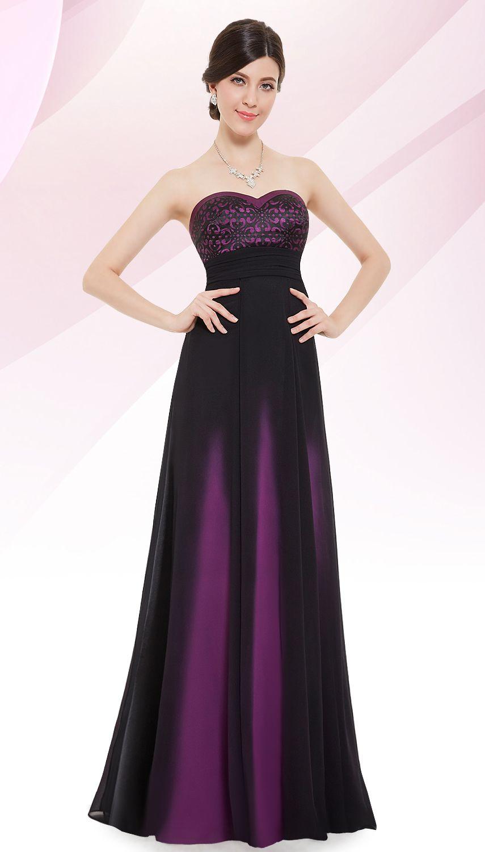Strapless Ombre Evening Dress | Pinterest | Final sale, Elegant and ...