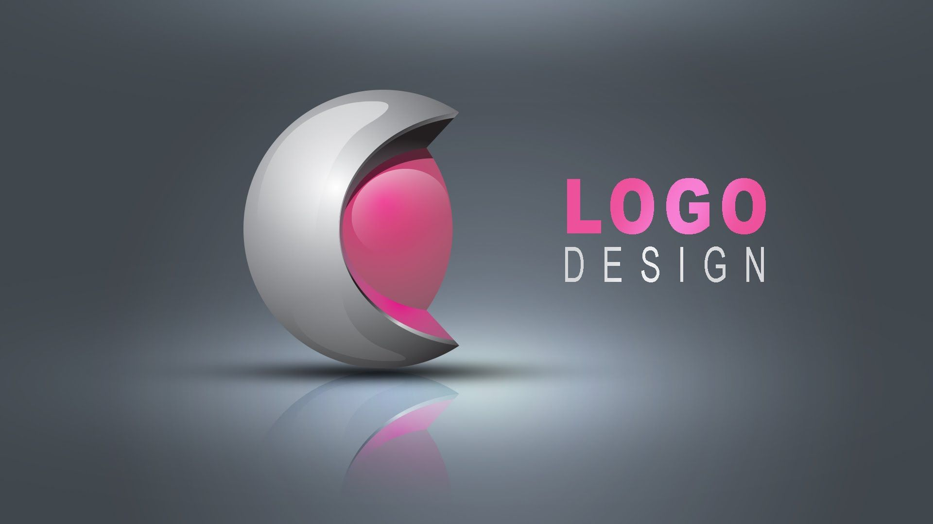 3d logo design in illustrator photoshop hindi urdo