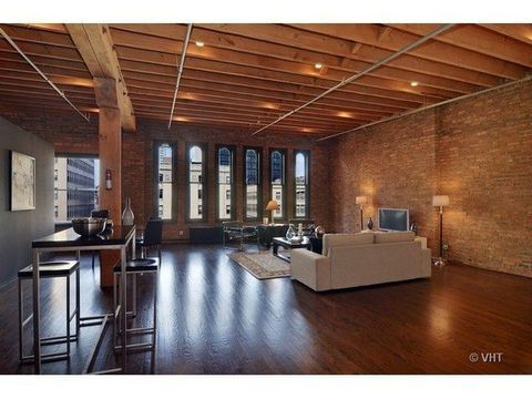 Architect designed timber loft asks 300k in printers row curbed chicago