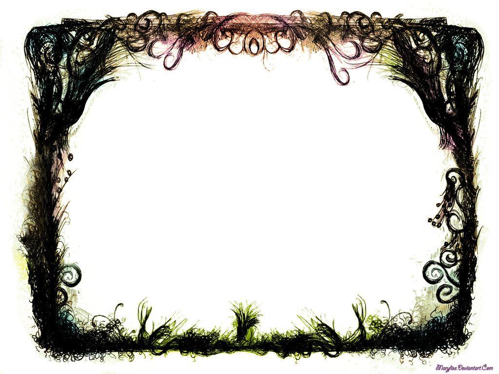 Grunge Fantasy Border Fantasy Border Borders For Paper