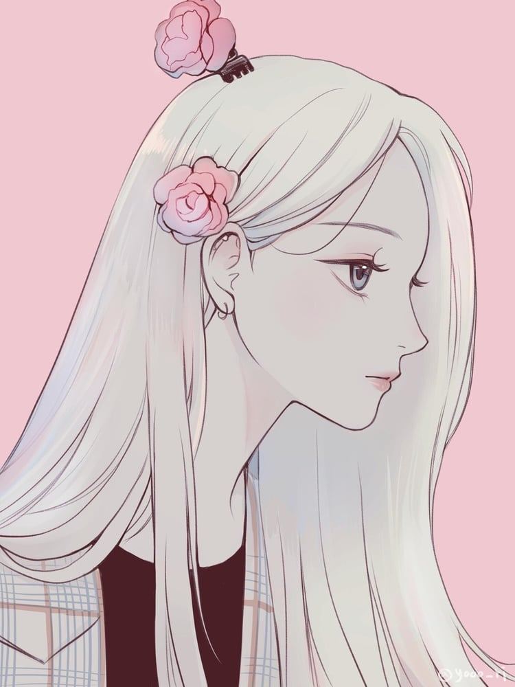 Peaceful Rose Beauty Shared By Sophia Rios Anime Art Girl Anime Art Cartoon Art
