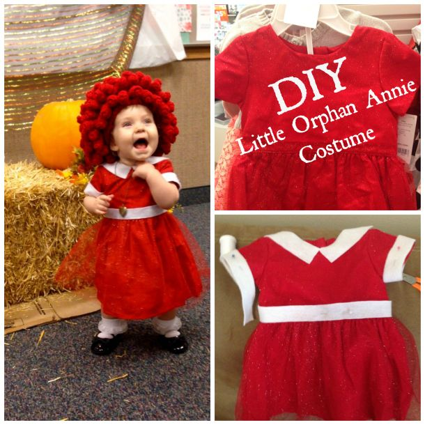 Toddler Orphan Annie Costume