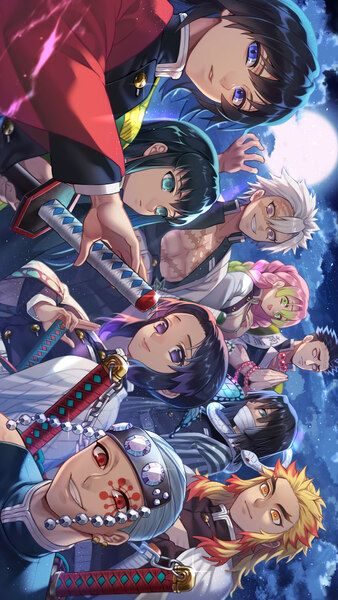 Pillars Kimetsu No Yaiba 4k Hd Mobile Smartphone And Pc Desktop Laptop Wallpaper 3840x2160 1920x1080 2160x3840 1 Anime Demon Anime Chibi Anime Wallpaper