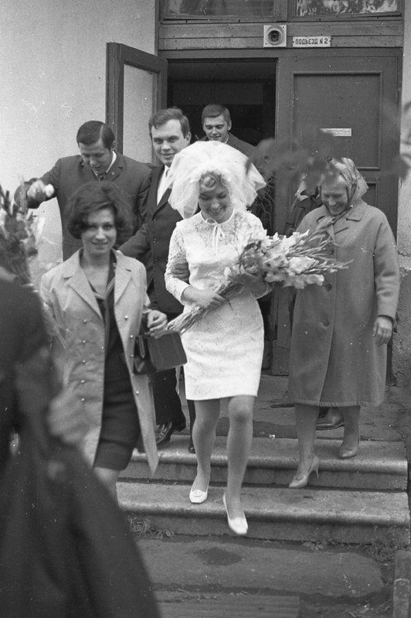 Свадьба в СССР – фото, свадьба в советском стиле